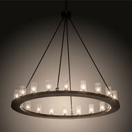 Meyda Tiffany 212201 Loxley Contemporary Timeless Bronze Chandelier Lamp