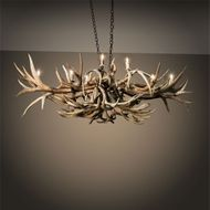 Meyda Tiffany 212270 Antlers Country Antique Copper Hanging Chandelier