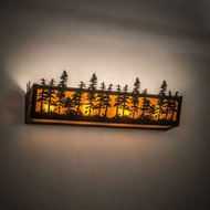 Meyda Tiffany 213436 Tall Pines Bathroom Light