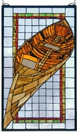 Meyda Tiffany 21439 Guideboat Tiffany Stained Glass Window