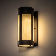 Meyda Tiffany 214540 Cartier Contemporary Oil Rubbed Bronze LED Wall Sconce