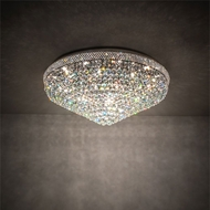 Meyda Tiffany 214614 Amelia Chrome Home Ceiling Lighting