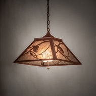 Meyda Tiffany 215594 Whispering Pines Rust Lighting Pendant