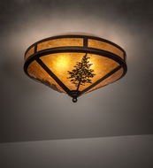 Meyda Tiffany 217917 Tamarack Rustic Mahogany Bronze Ceiling Lighting