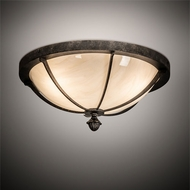 Meyda Tiffany 217937 Dominga Traditional Bronze Ceiling Light