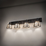 Craftsman Bathroom Vanity Lights