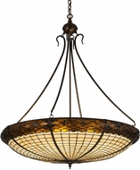 Meyda Tiffany 22356 Greenbriar Oak Tiffany Antique Copper Lighting Pendant