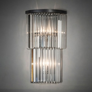 Meyda Tiffany 226135 Beckam Clear Wall Sconce