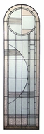 Meyda Tiffany 22869 54 Inch Tall Stained Glass Art Deco Window Wall D�cor - Right