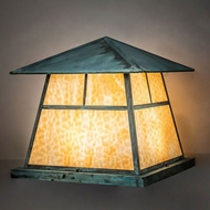 Meyda Tiffany 231633 Stillwater Copper Exterior Pier Lighting
