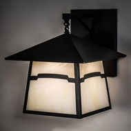 Meyda Tiffany 232604 Stillwater Craftsman Brown Exterior 15  Sconce Lighting