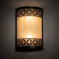 Meyda Tiffany 232906 Cardiff Bronze Wall Lighting Fixture