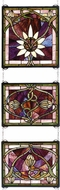 Meyda Tiffany 24411 Solstice Tiffany Stained Glass Window