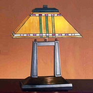 Meyda Tiffany 26004 Prairie Corn Tiffany Table Lamp