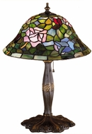 Meyda Tiffany 26321 Tiffany Rosebush Tiffany Table Light