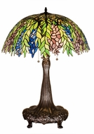 Meyda Tiffany 26575 Tiffany Honey Locust Tiffany Lighting Table Lamp