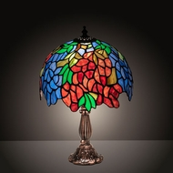 Meyda Tiffany 26587 Tiffany Laburnum Tiffany Table Top Lamp
