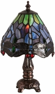 Meyda Tiffany 26615 Tiffany Hanginghead Dragonfly Tiffany Table Light