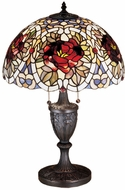 Meyda Tiffany 26674 Renaissance Rose Tiffany Table Lighting