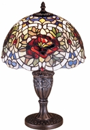 Meyda Tiffany 26675 Renaissance Rose Tiffany Lighting Table Lamp