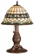 Meyda Tiffany 27539 Tiffany Roman Tiffany Table Lamp