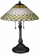 Meyda Tiffany 27576 Fishscale Tiffany Table Lighting
