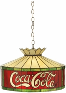 Meyda Tiffany 29237 Coca-Cola Tiffany Antique Hanging Pendant Light