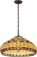 Meyda Tiffany 29509 Tiffany Edwardian Tiffany Beige Pendant Lighting Fixture
