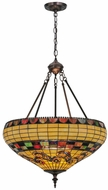 Meyda Tiffany 29510 Tiffany Edwardian Tiffany Pendant Hanging Light