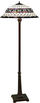 Meyda Tiffany 30369 Roman 24 inches wide Tiffany Floor Lamp