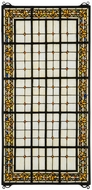 Meyda Tiffany 30406 Fleur-de-lis Tiffany Stained Glass Window