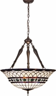 Meyda Tiffany 30468 Tiffany Roman Tiffany Beige Green Pendant Hanging Light