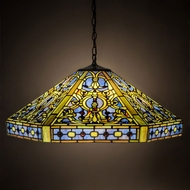 Meyda Tiffany 31118 Tiffany Elizabethan Tiffany Pendant Lighting