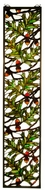 Meyda Tiffany 31267 Acorn & Oak Leaf Tiffany Stained Glass Window