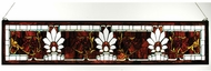 Meyda Tiffany 31368 Beveled Ellsinore Tiffany Stained Glass Window