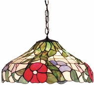 Meyda Tiffany 31622 Peony Tiffany Hanging Lamp