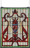 Meyda Tiffany 36196 Baroque Tiffany Stained Glass Window