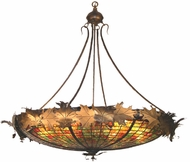 Meyda Tiffany 37514 Greenbriar Oak Tiffany Antique Copper Pendant Lighting Fixture