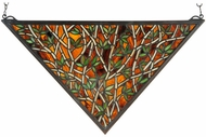 Meyda Tiffany 38472 Bamboo Tiffany Stained Glass Window
