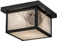 Meyda Tiffany 46307 Hyde Park Spider Web Mission Overhead Lighting