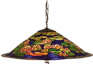 Meyda Tiffany 47717 Tiffany Pond Lily Tiffany Ceiling Light Pendant