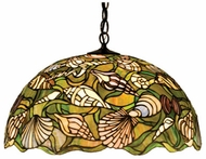 Meyda Tiffany 47977 Seashell Tiffany Drop Ceiling Light Fixture