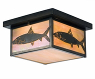 Meyda Tiffany 50094 Bonefish Country Craftsman Brown Ceiling Lighting Fixture