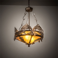 Meyda Tiffany 50163 Catch of the Day Country Antique Copper Pendant Lighting Fixture
