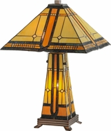 Meyda Tiffany 50805 Sierra Prairie Mission Tiffany Table Lamp
