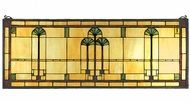 Meyda Tiffany 50825 Ginkgo Tiffany Stained Glass Window