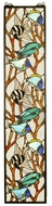 Meyda Tiffany 50840 Tropical Fish Tiffany Stained Glass Window