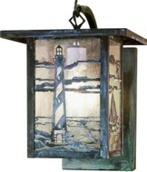 Meyda Tiffany 51472 Hyde Park Country Exterior Sconce Lighting