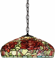 Meyda Tiffany 51860 Tiffany Peony Tiffany Pendant Hanging Light