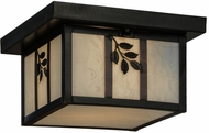 Meyda Tiffany 52812 Hyde Park Sprig Ca Craftsman Ceiling Light Fixture